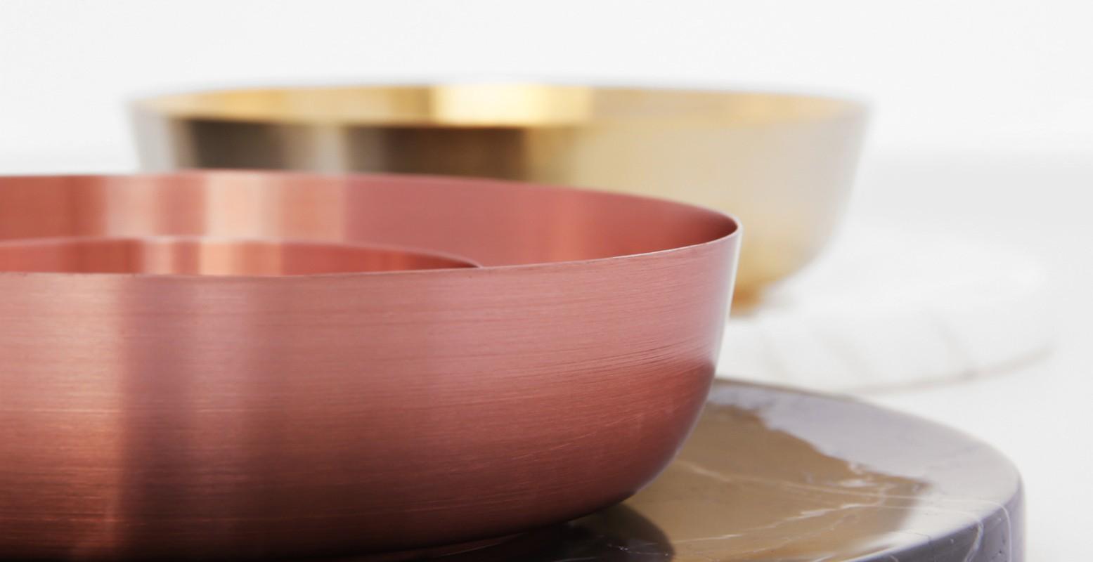 Bangle - copper gold 01 - Sayar&Garibeh